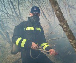 Lokaliziran požar kod Smiljana